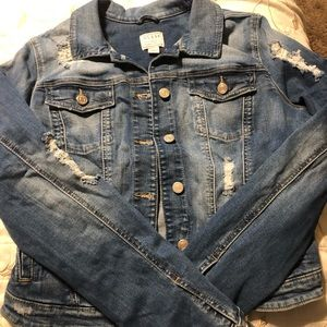 XL women's guess jean jacket brand new with tags